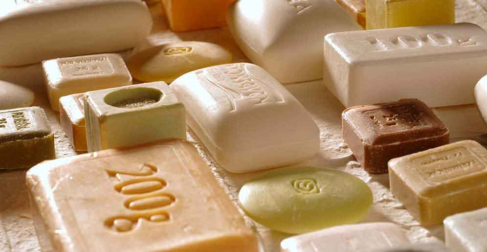 Caustic soda use in soap production